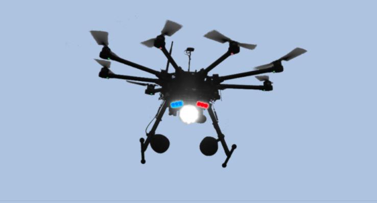 innovaciones en seguridad electronica drones